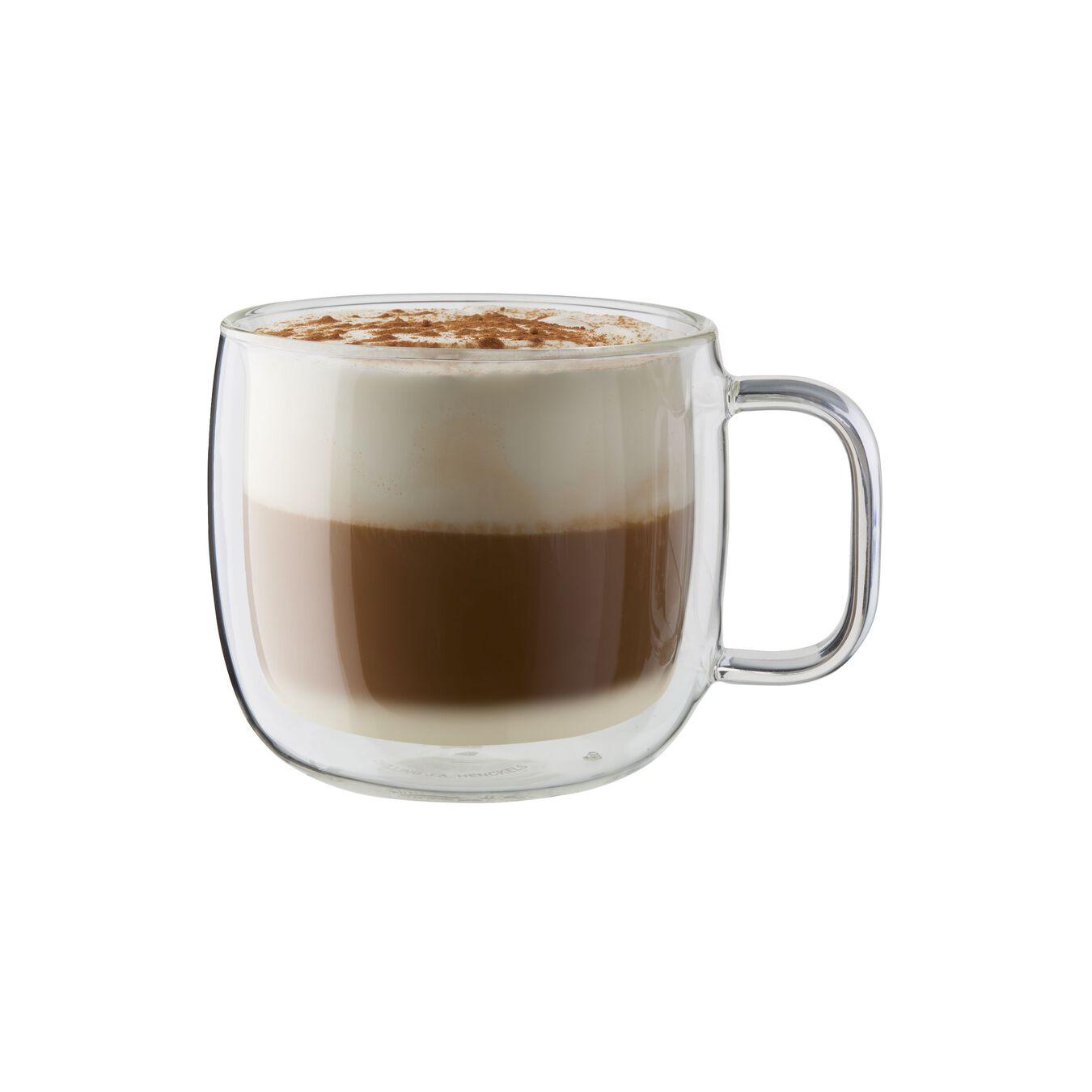 2-pc Double-Wall Glass Cappuccino Mug Set,,large 1