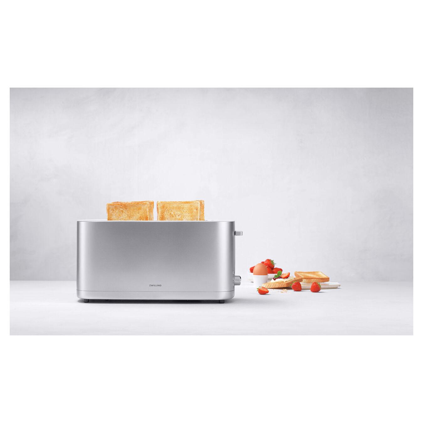 Ekmek Kızartma Makinesi çörek ısıtıcılı | 2 yuva 4 dilim,,large 3