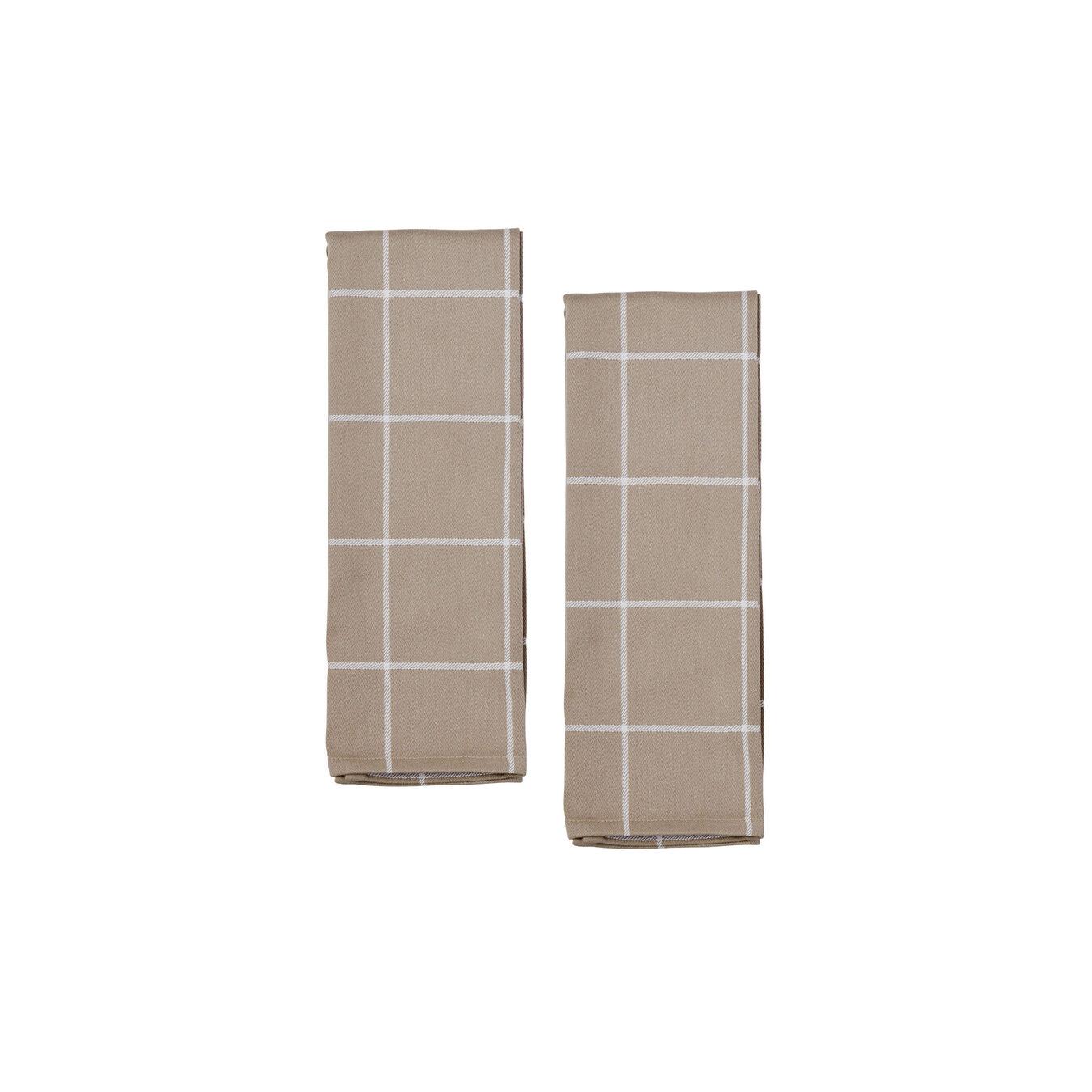 4-pc Kitchen Towel Set - Taupe,,large 3