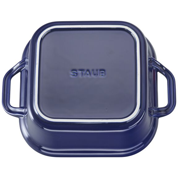 "9"" x 9"" Square Covered Baking Dish, Dark Blue, , large 5"