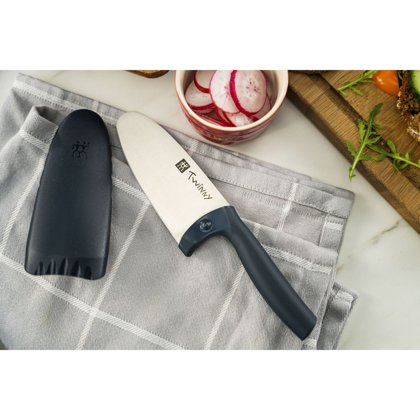 Coltello da cuoco - 10 cm, blu,,large 15