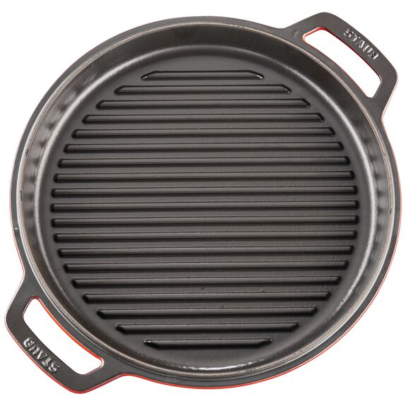 11-inch round Braise + Grill, Cherry,,large 7