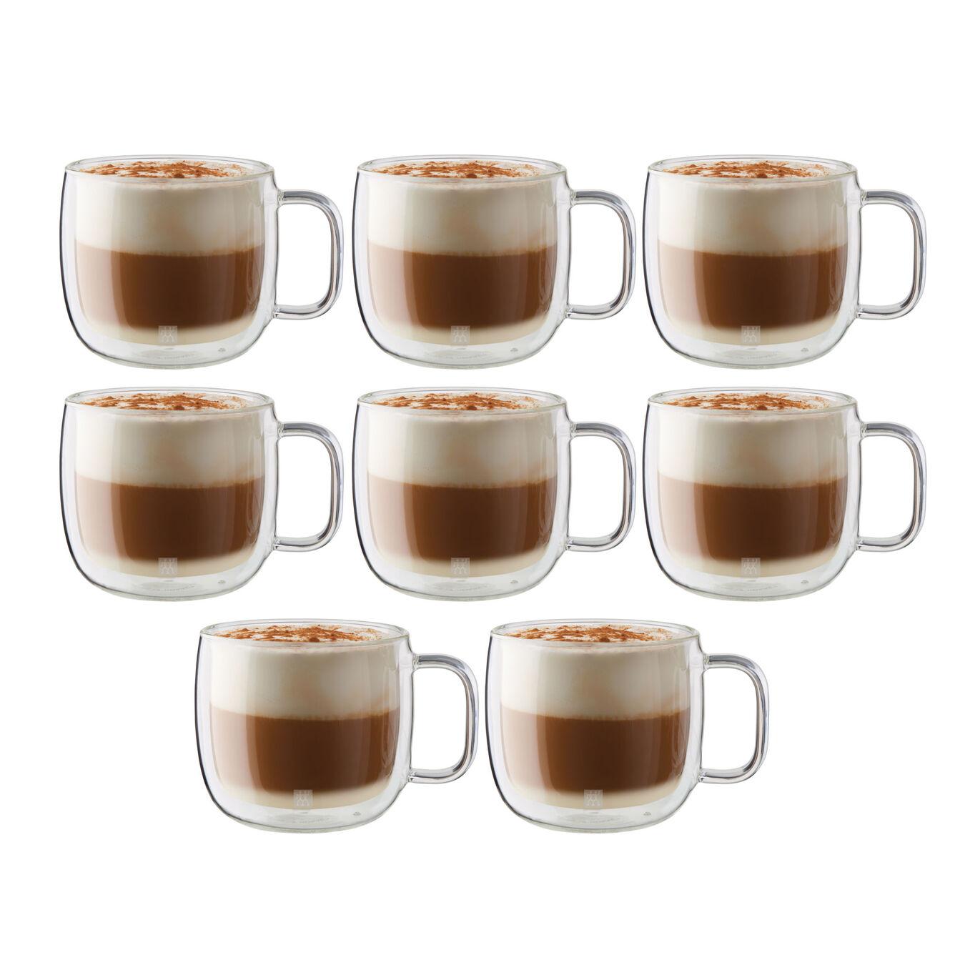 8 Piece Cappuccino Mug Set - Value Pack,,large 2