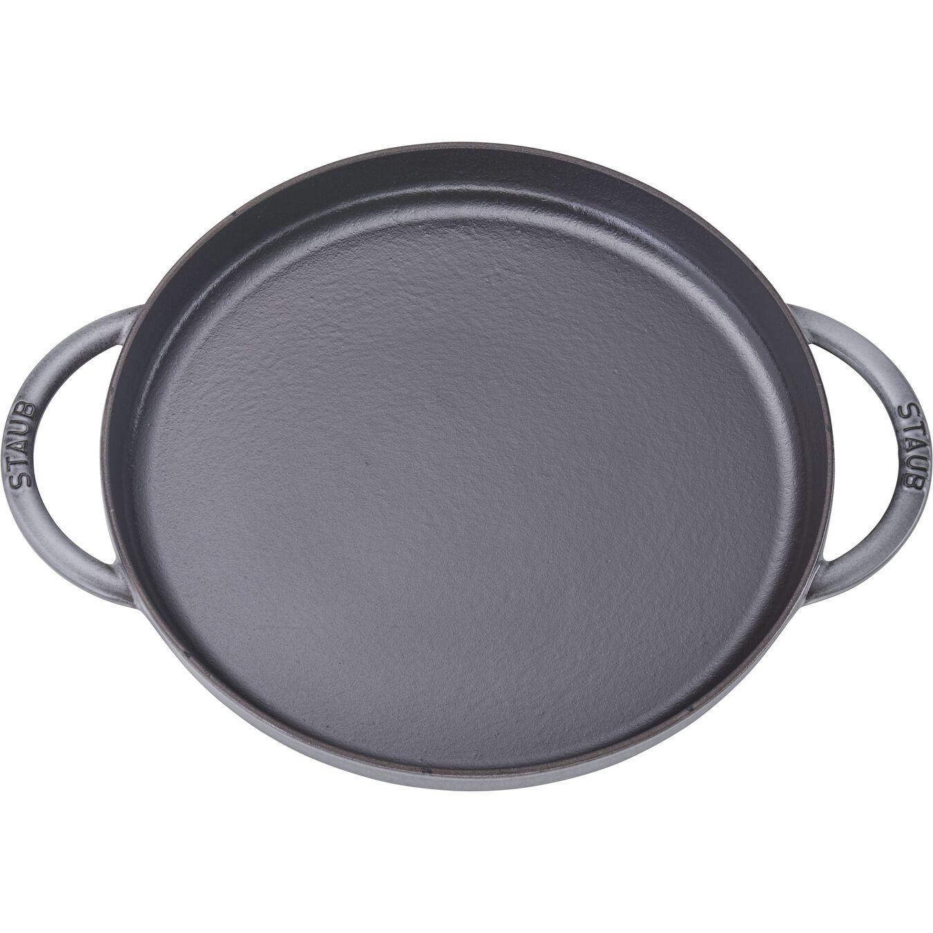 12-inch Chicken al Mattone Griddle & Press Set - Graphite Grey,,large 2