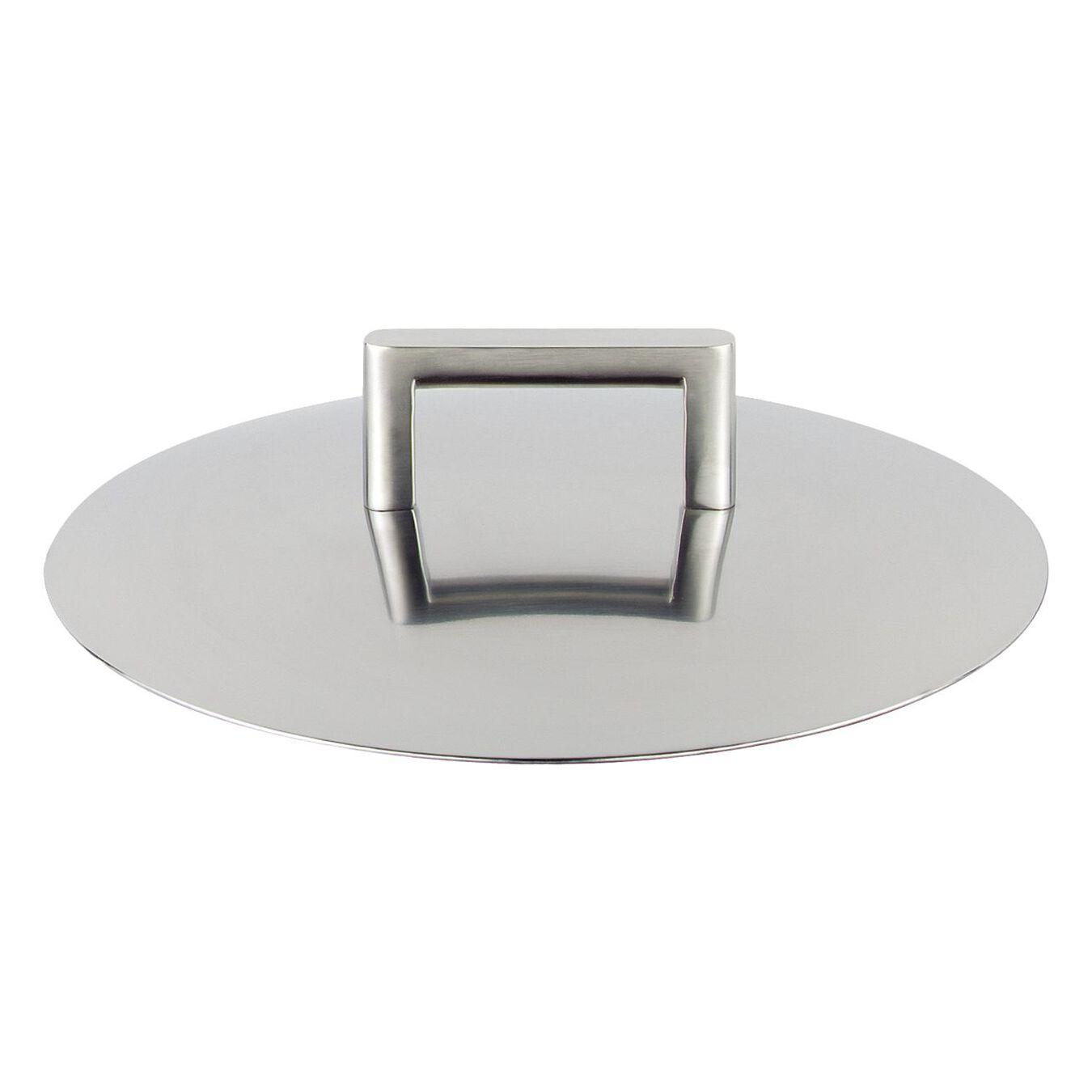 Couvercle à double paroi, 16 cm   Rond(e)   Inox 18/10,,large 1