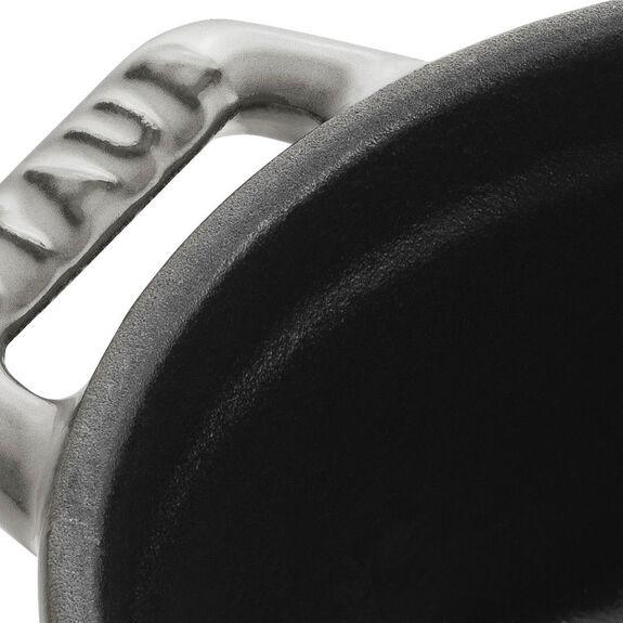 Mini Döküm Tencere, 10 cm | Gri | Yuvarlak | Döküm Demir,,large 3