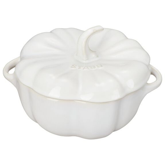 Special shape Cocotte, Ivory,,large