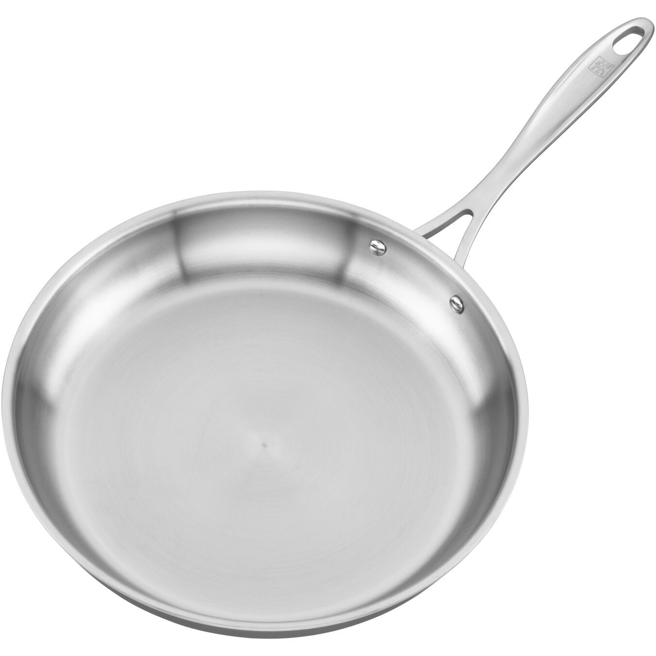 12-inch, 18/10 Stainless Steel, Frying pan,,large 2