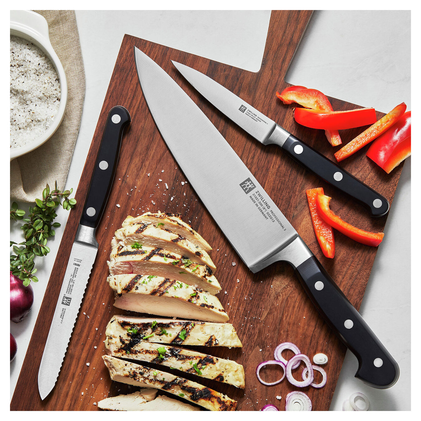3-pc, Knife set,,large 6