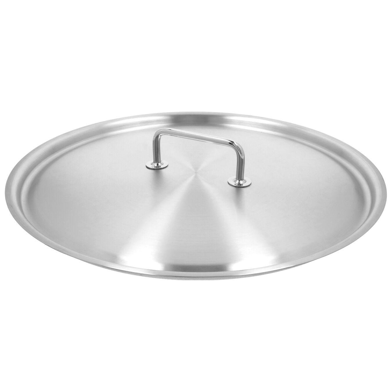 Kapak Paella Tavası için | 18/10 Paslanmaz Çelik | 46 cm,,large 1