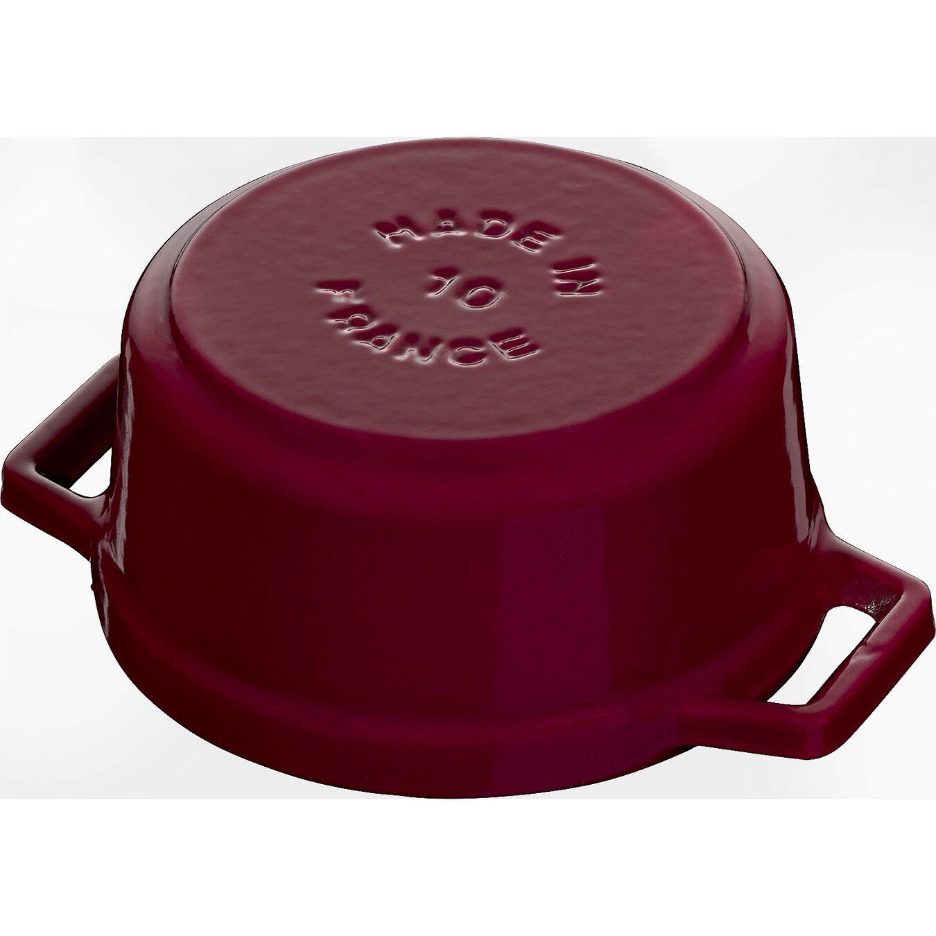 250 ml Cast iron round Mini Cocotte, Bordeaux,,large 4