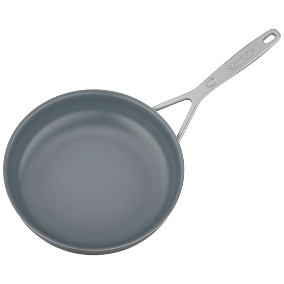 9.5-inch Stainless Steel Ceramic Nonstick Fry Pan,,large 3