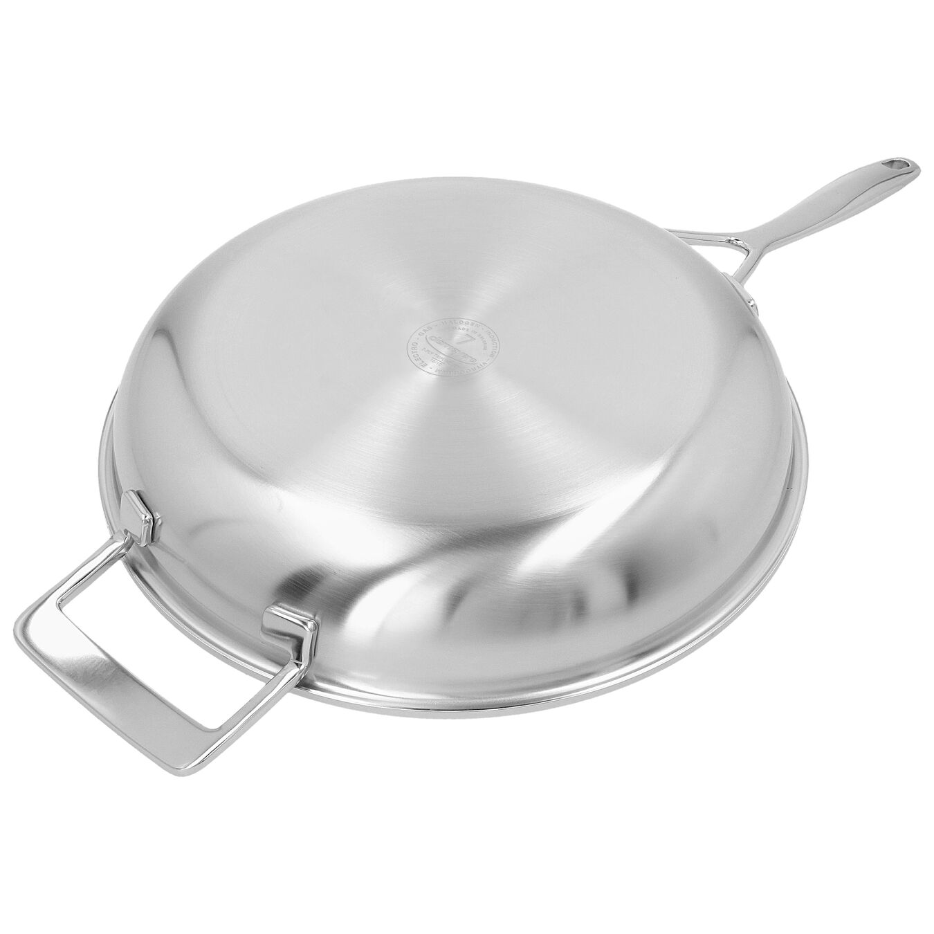 11-inch, 18/10 Stainless Steel, Non-stick, Frying pan,,large 5