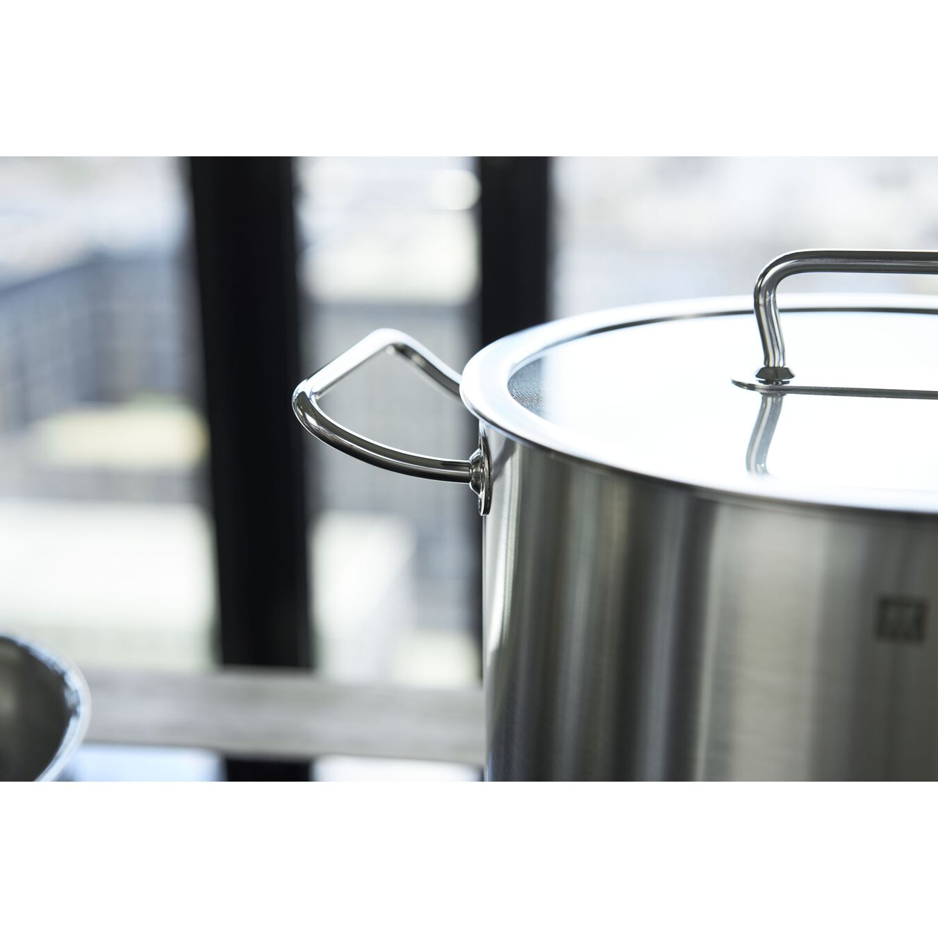 Suppegryde Højsidet 24 cm, 18/10 rustfrit stål,,large 10