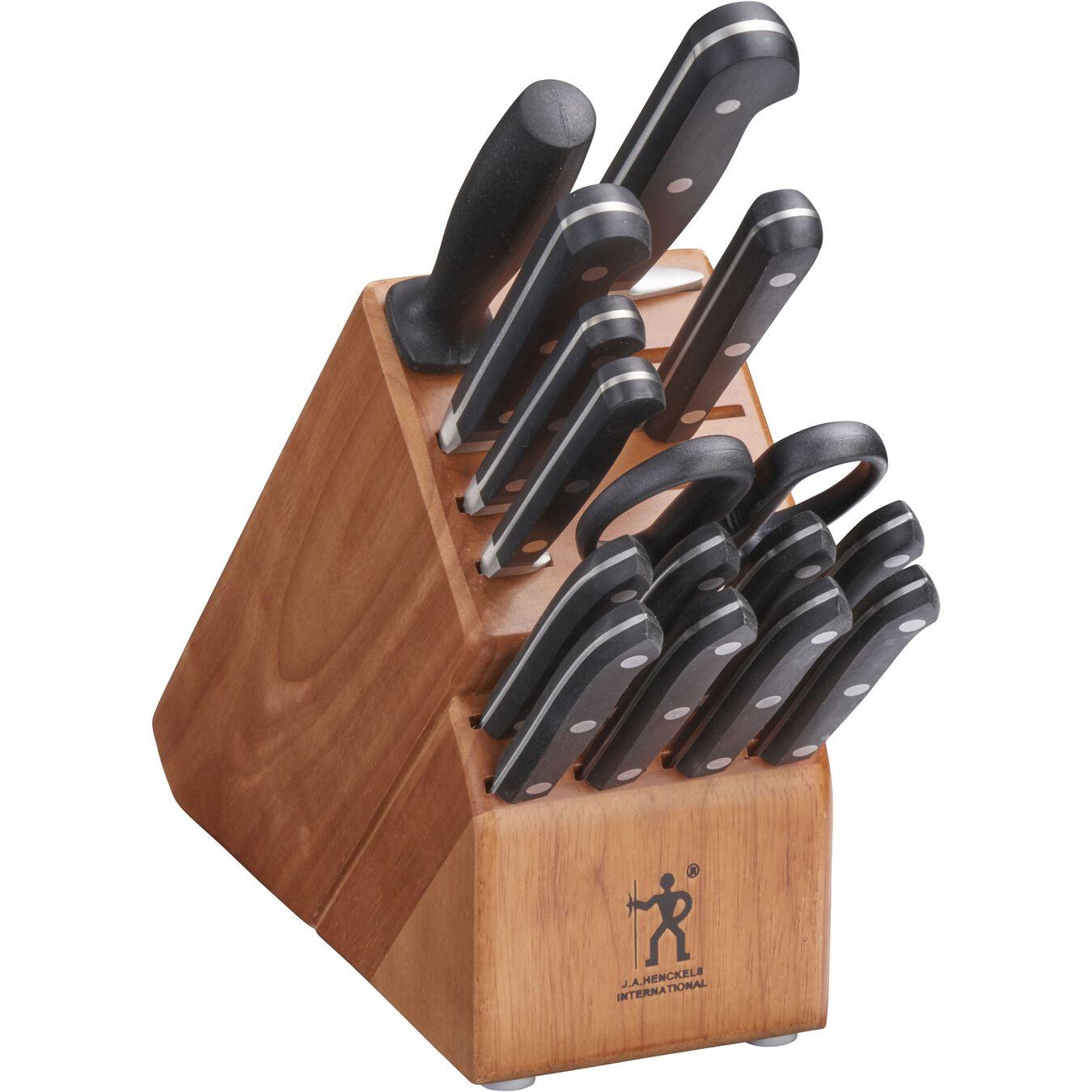 16-pc Knife Block Set,,large 1