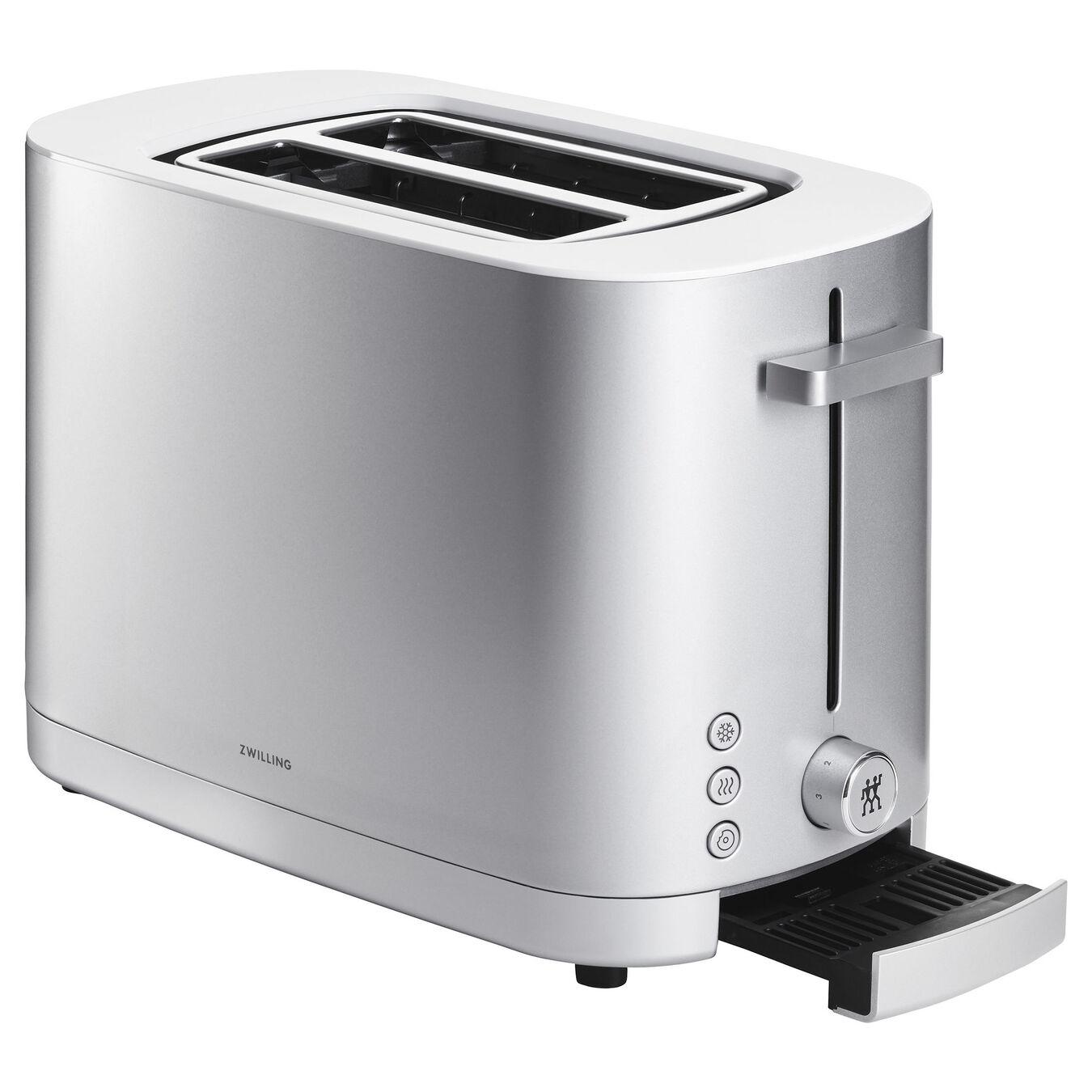 Toaster, 2 Schlitze kurz, Silber,,large 3