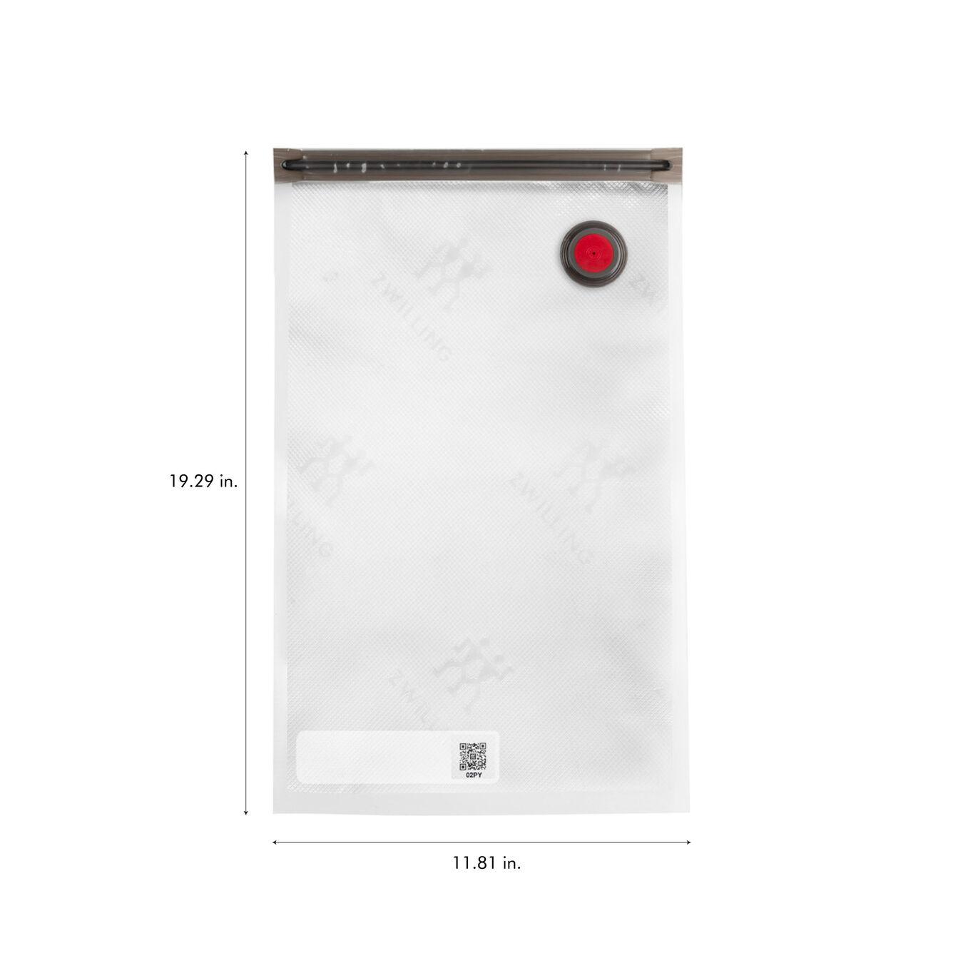 large / 3-pc Vacuum bag set, Plastic ,,large 9