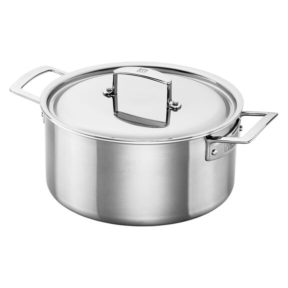 Stainless Steel 5.5-Qt. Dutch Oven,,large