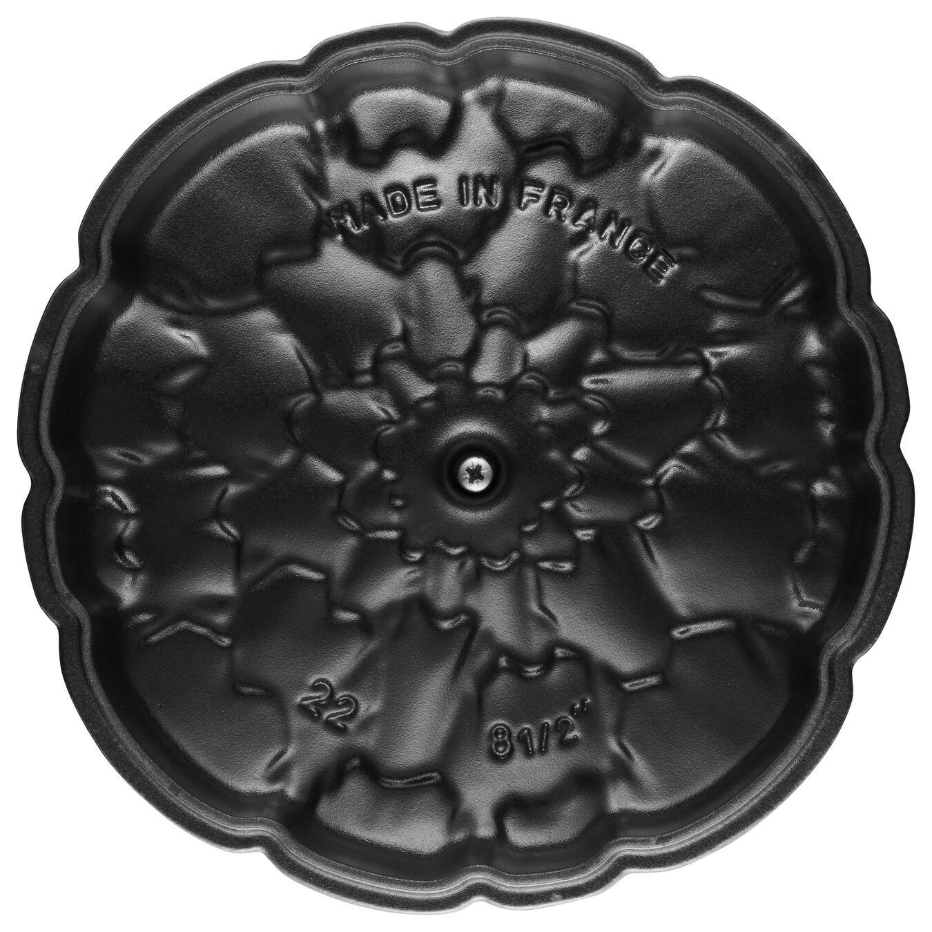 Cocotte 22 cm, Artichaut, Basilic, Fonte,,large 4