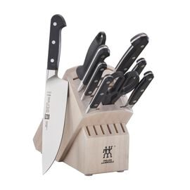 ZWILLING Pro, 10-pc Knife Block Set - White