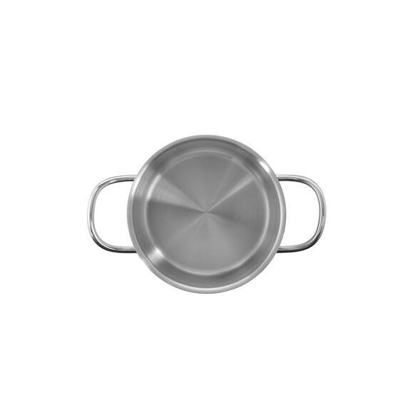 Derin Tencere, 26 cm x 17 cm | Yuvarlak | Metalik Gri,,large 3