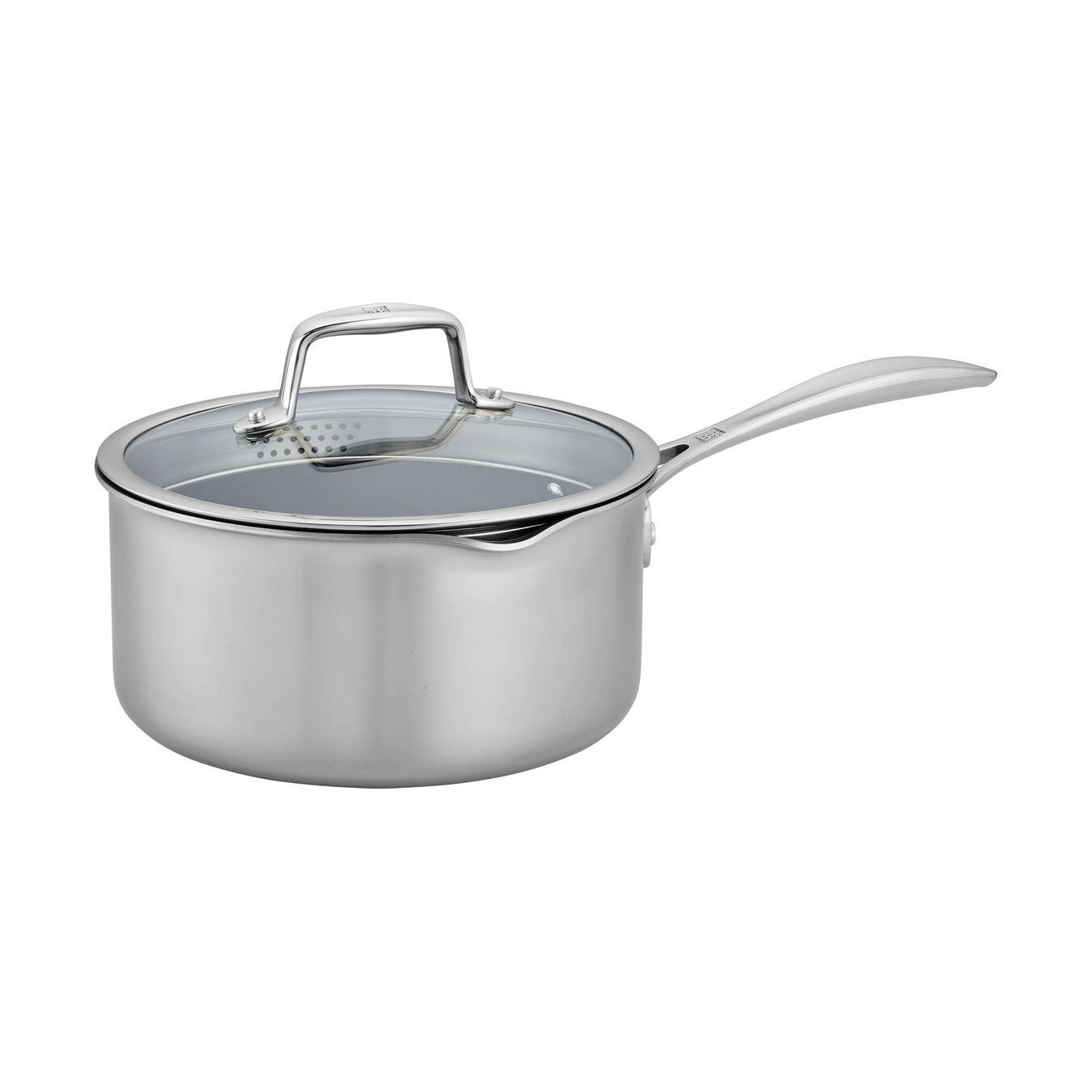 3 qt, 18/10 Stainless Steel, 18/10 Stainless Steel, Non-stick, Sauce pan,,large 1