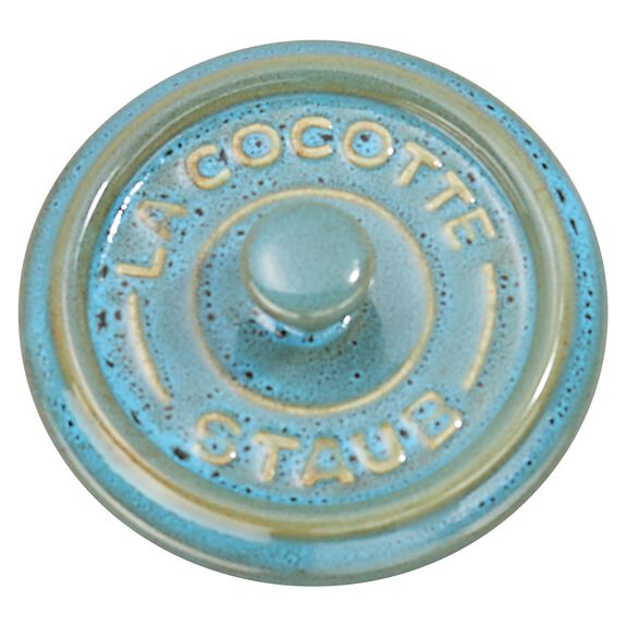 3-pc round Cocotte set, Rustic Turquoise,,large 6