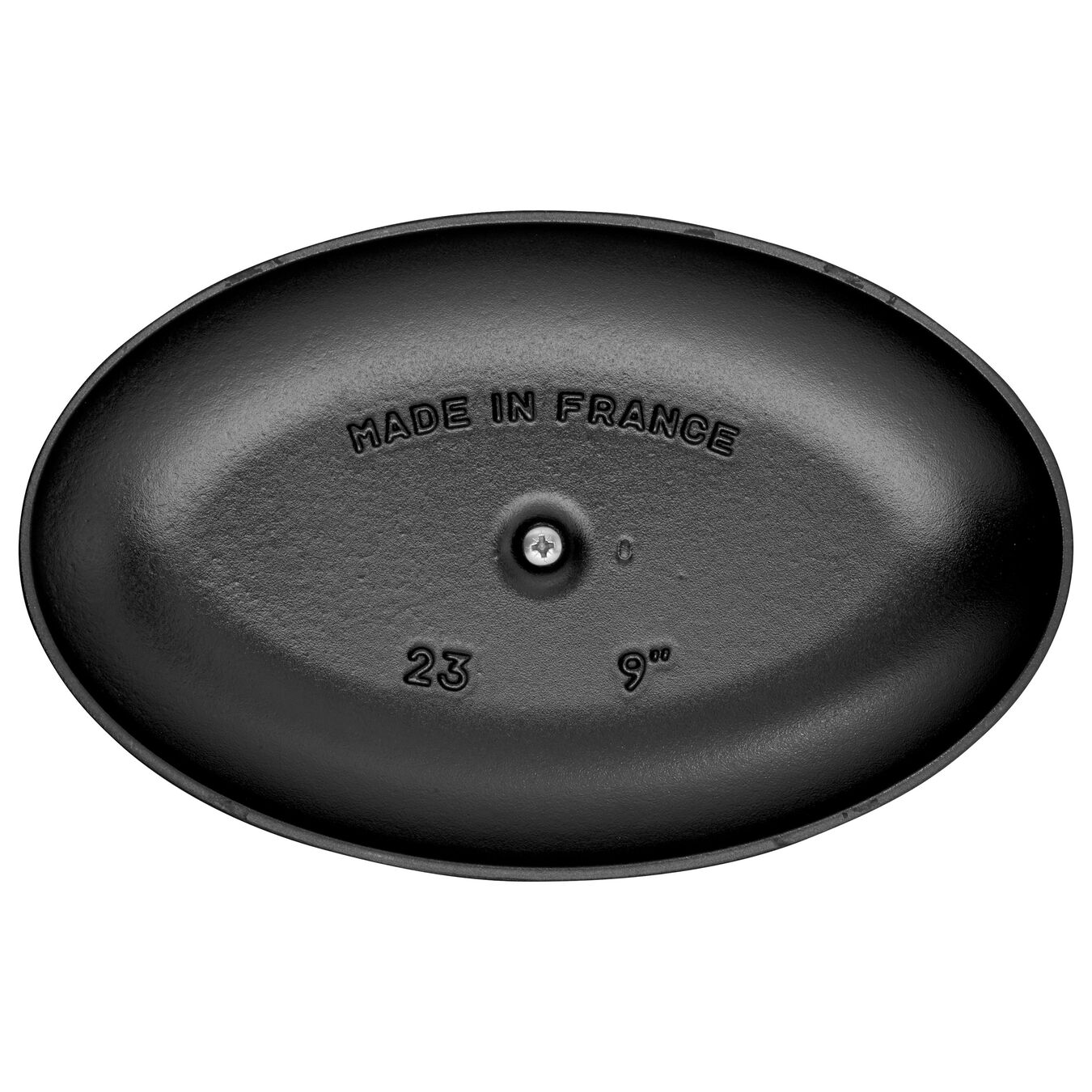 La Coquette 23 cm, Ovale, Noir,,large 3