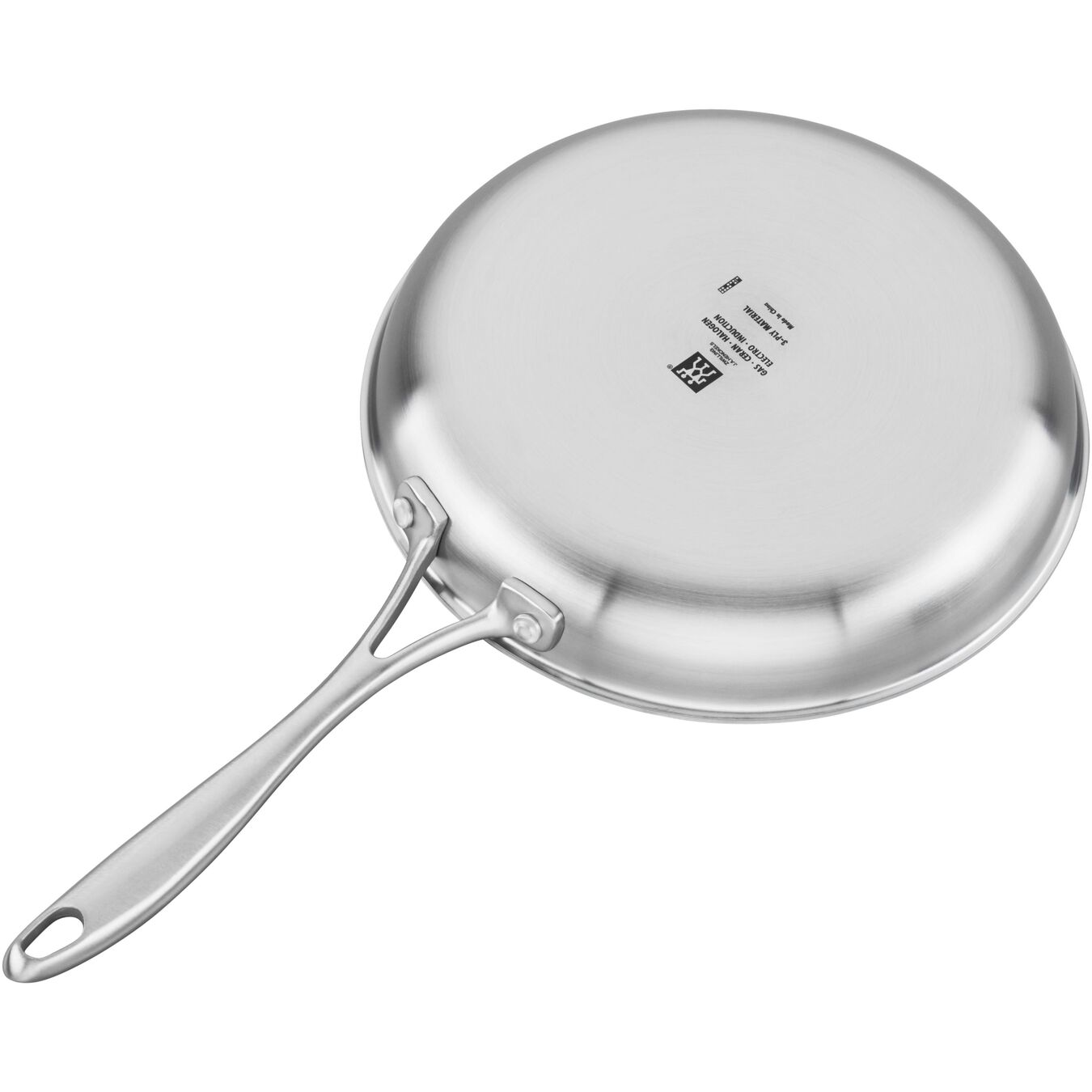 3-ply 2-pc Stainless Steel Fry Pan Set,,large 3