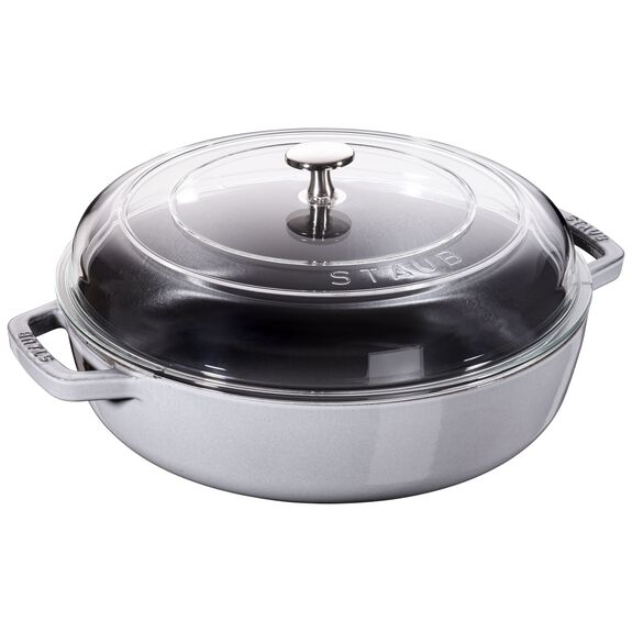 4-qt Universal Deluxe Pan - Graphite Grey,,large