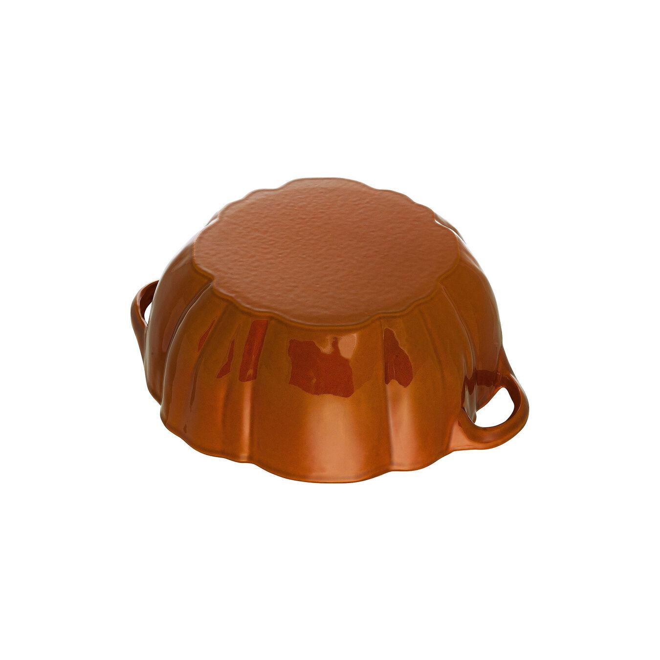 3.5-qt Pumpkin Cocotte - Visual Imperfections - Burnt Orange,,large 5