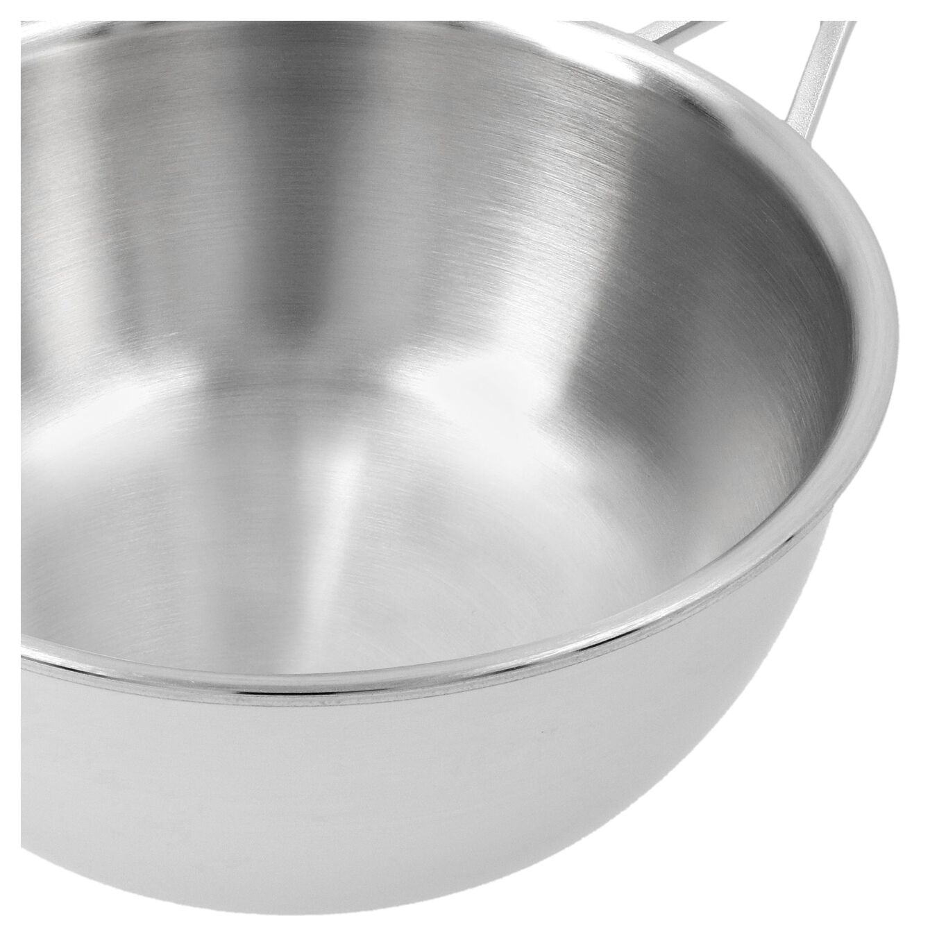 2.25 qt Sauteuse conical, 18/10 Stainless Steel ,,large 3