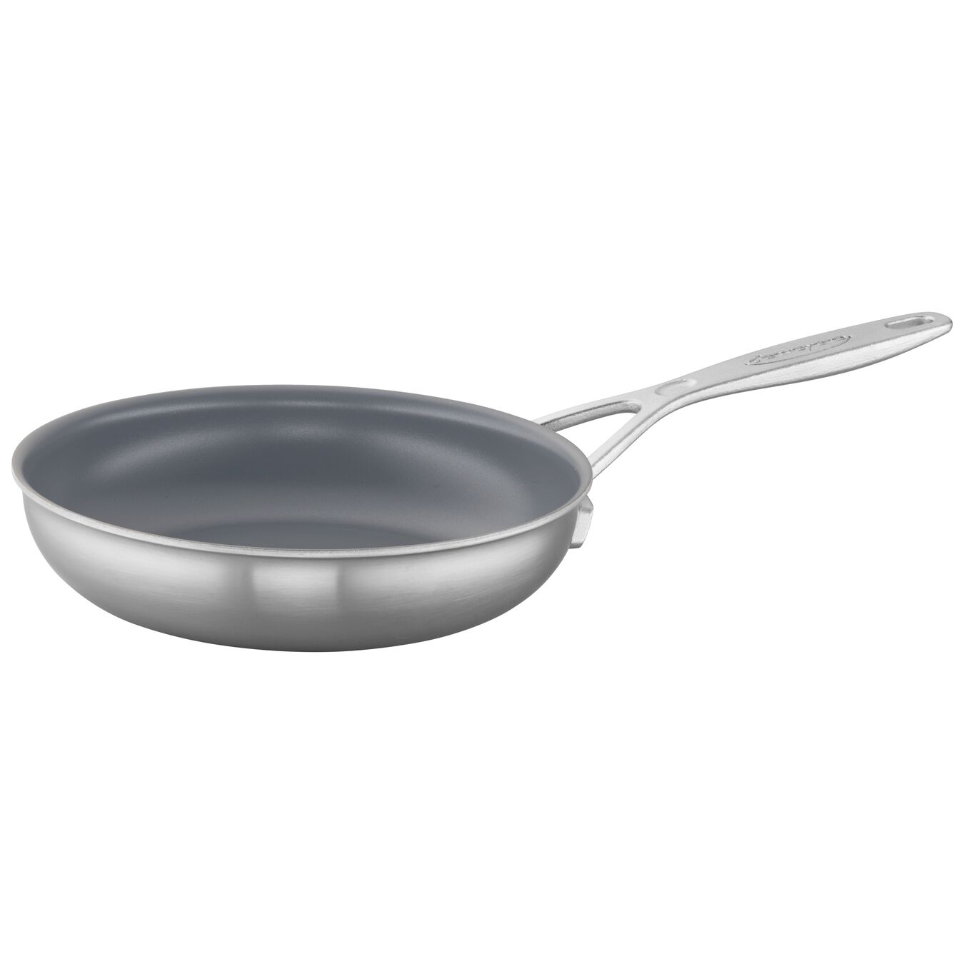 8-inch, 18/10 Stainless Steel, Ceramic, Frying pan,,large 2