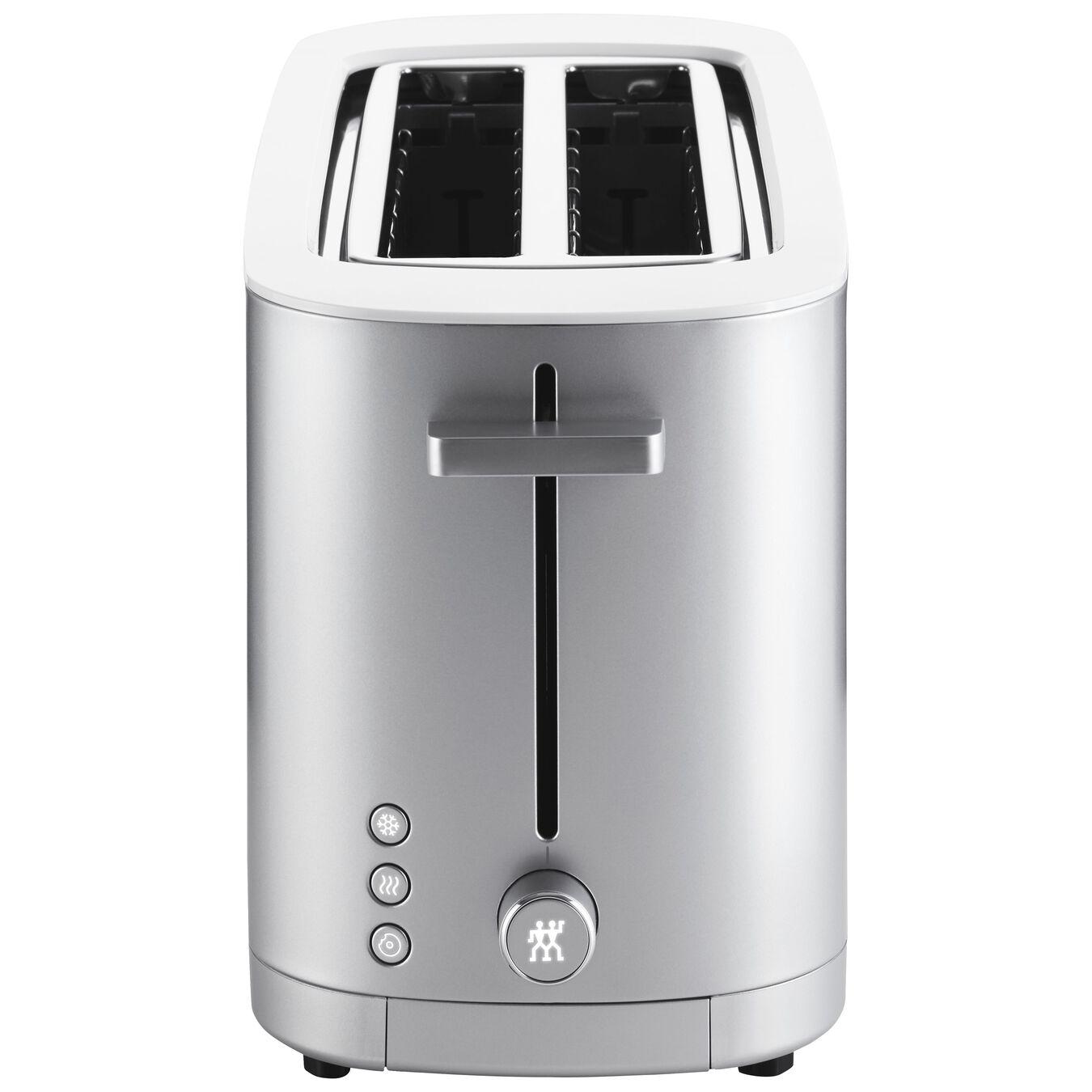 Toaster, 2 Schlitze lang, Silber,,large 2