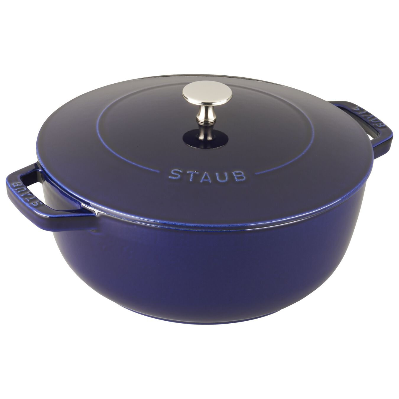 3.75-qt Essential French Oven - Dark Blue,,large 2