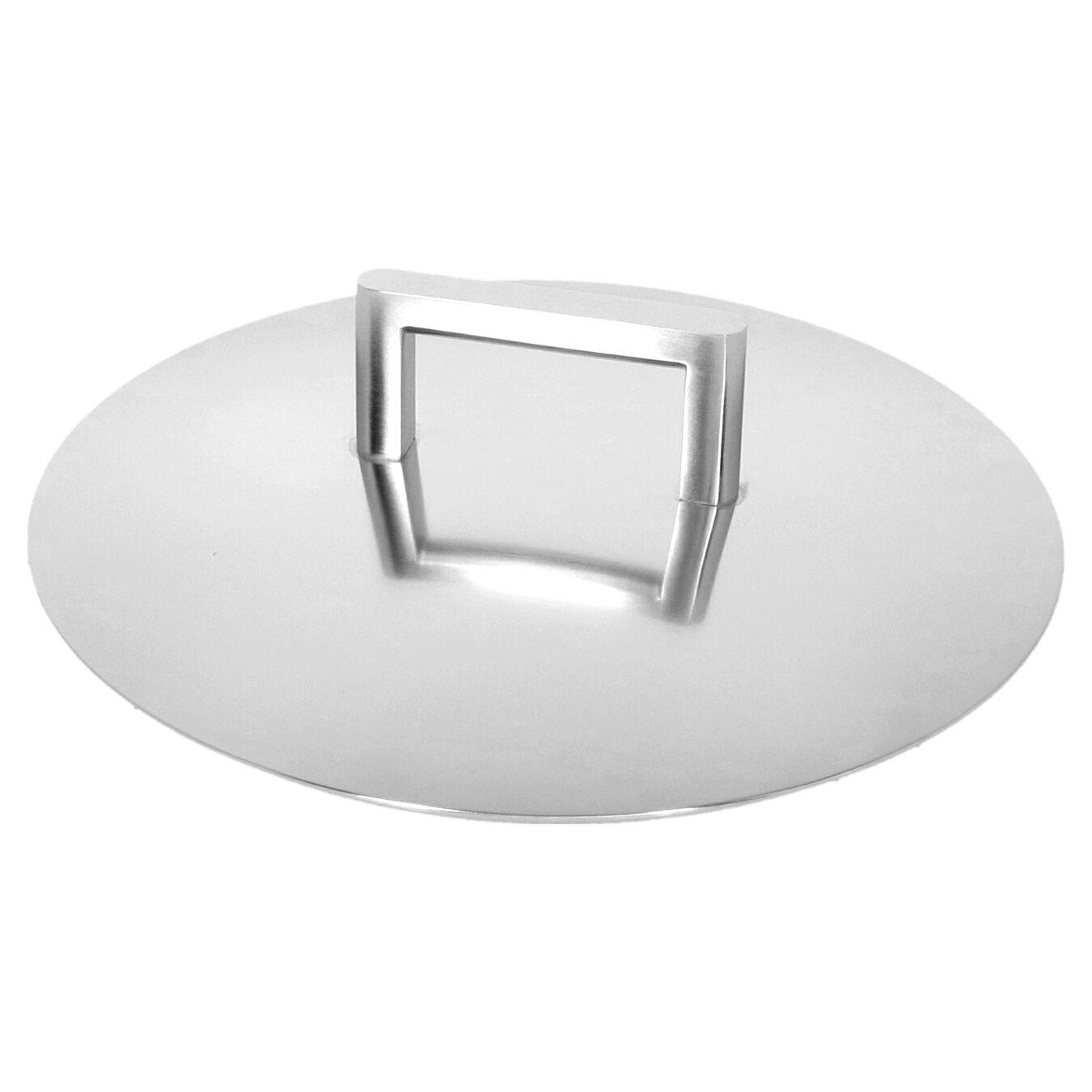 Sos Tenceresi Kapaklı | 18/10 Paslanmaz Çelik | 20 cm | Metalik Gri,,large 3