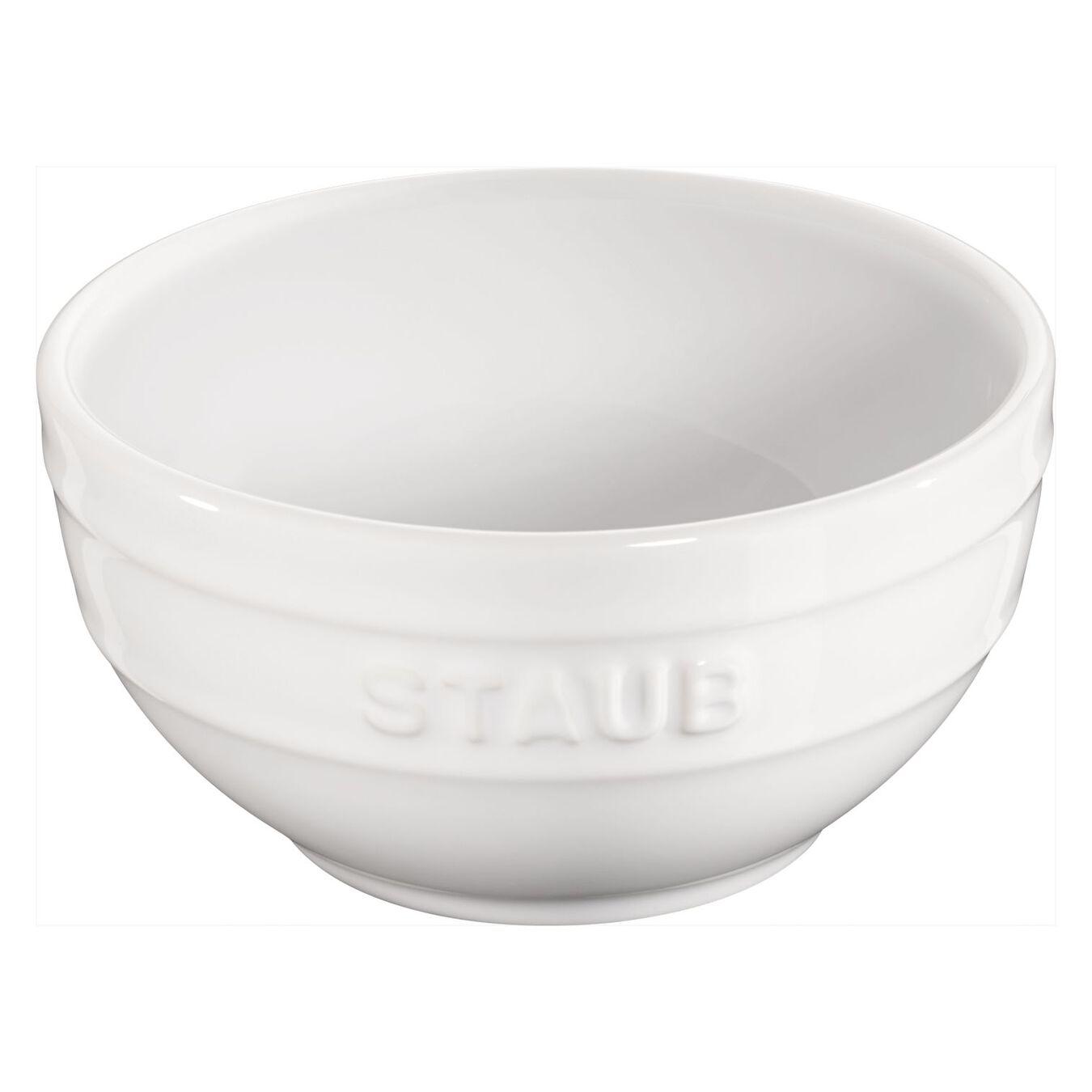 Ciotola rotonda - 14 cm, Colore bianco puro,,large 2