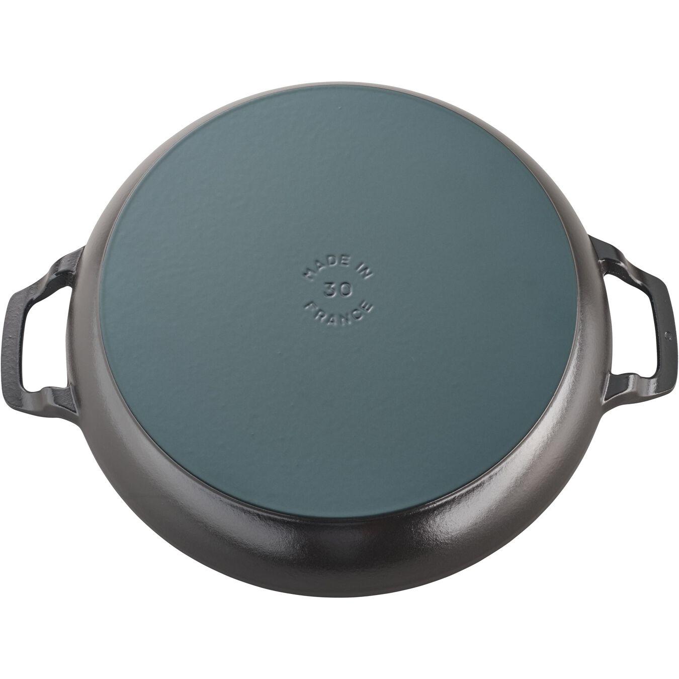12-inch, Saute pan, black matte,,large 3