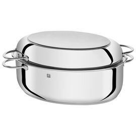 ZWILLING Plus, 41 cm 18/10 Stainless Steel oval Roaster, silver