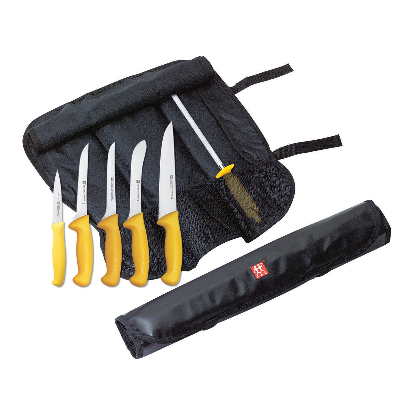 Knife roll set, 7 Piece | German Stainless Steel,,large 1