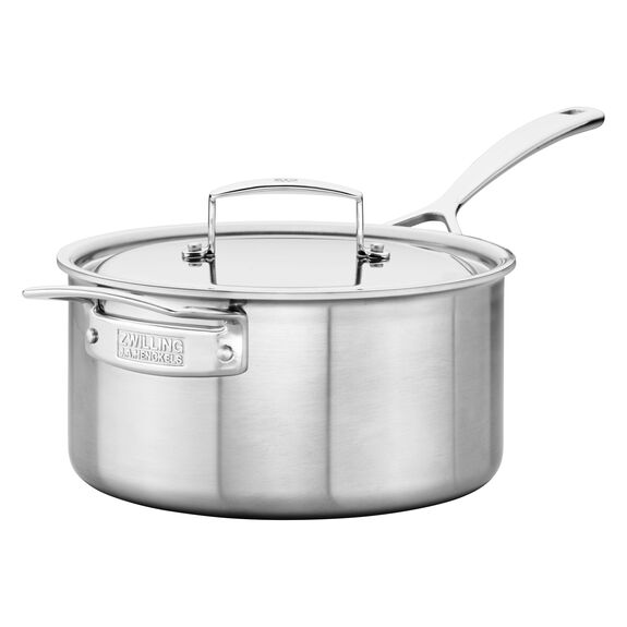 Stainless Steel 4-Qt. Saucepan,,large 5