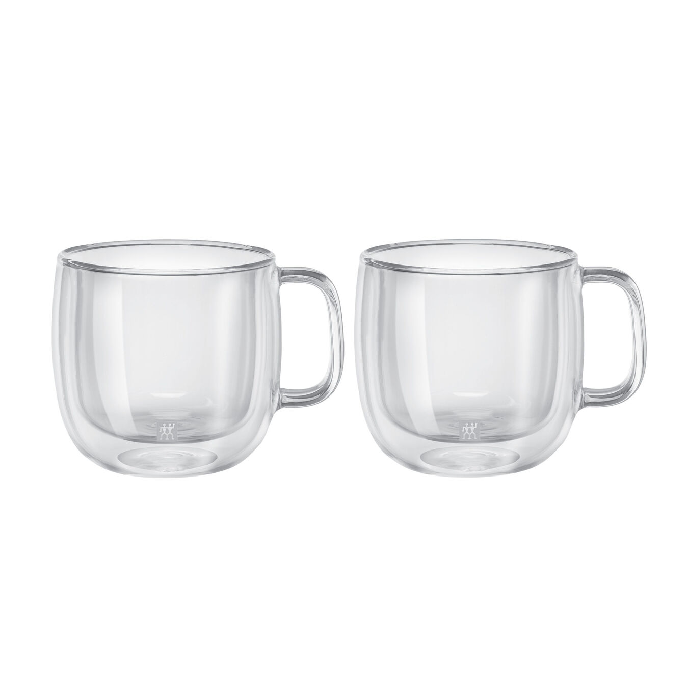 Set di bicchieri da cappuccino - 2-pz., vetro borosilicato,,large 2