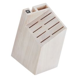 10-slot Knife Block, White