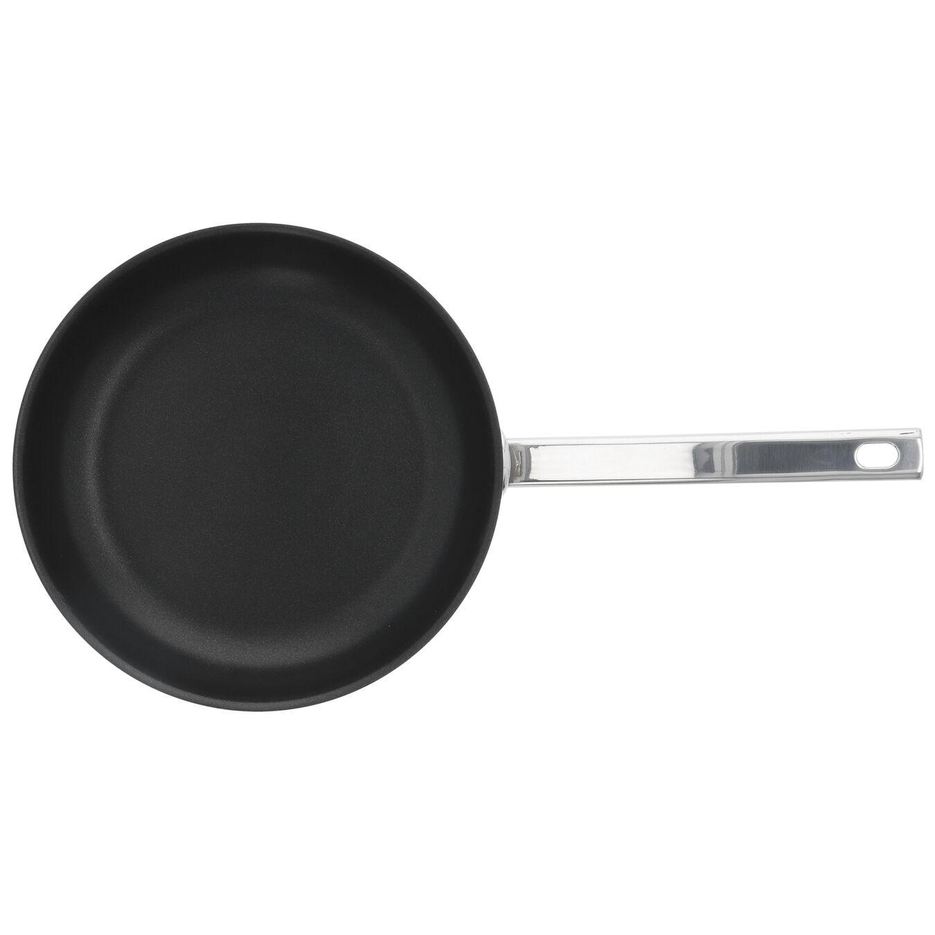 Poêle 24 cm, Inox 18/10, Noir argenté,,large 2