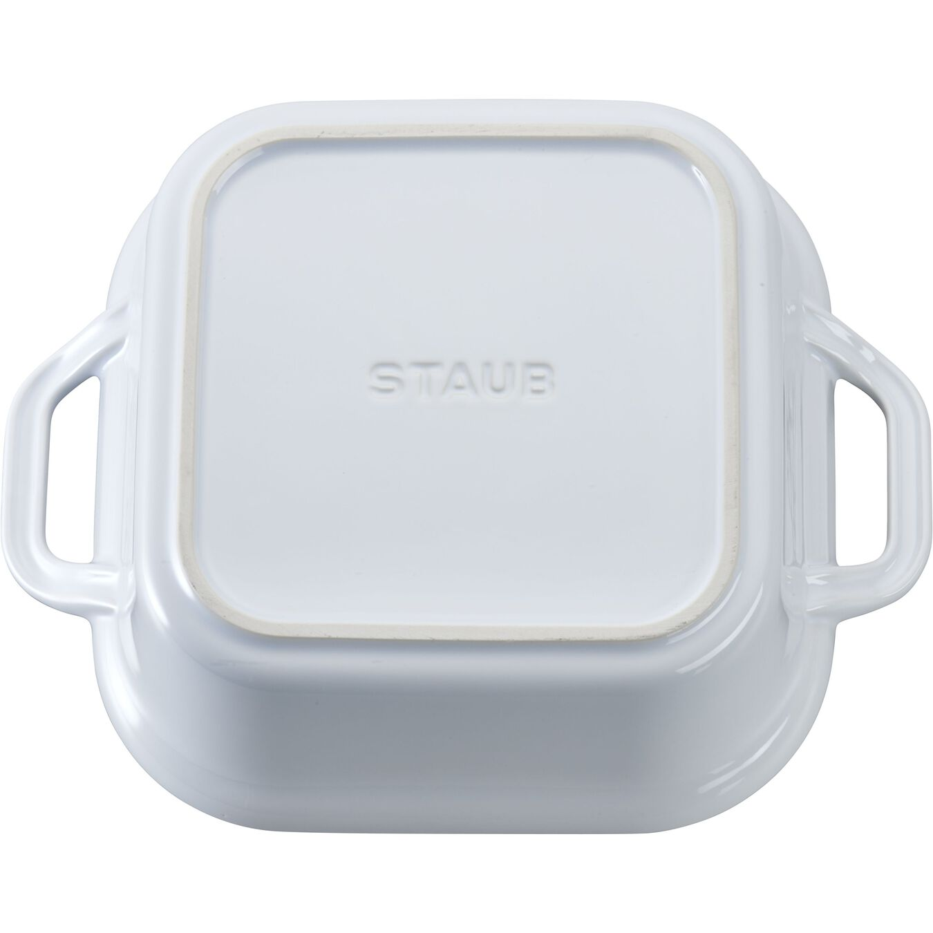9-inch, square, Covered Baking Dish, white,,large 2