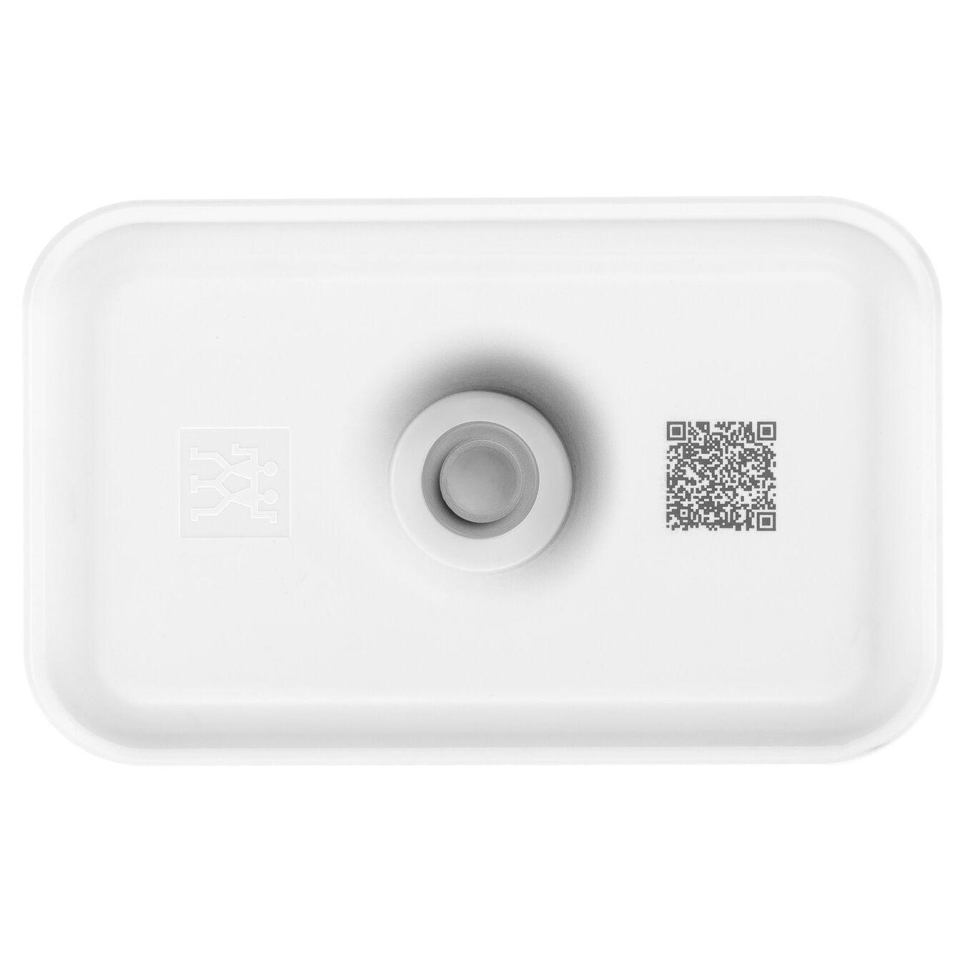 Vakumlu Yemek Kabı, M, Plastik, Beyaz,,large 3