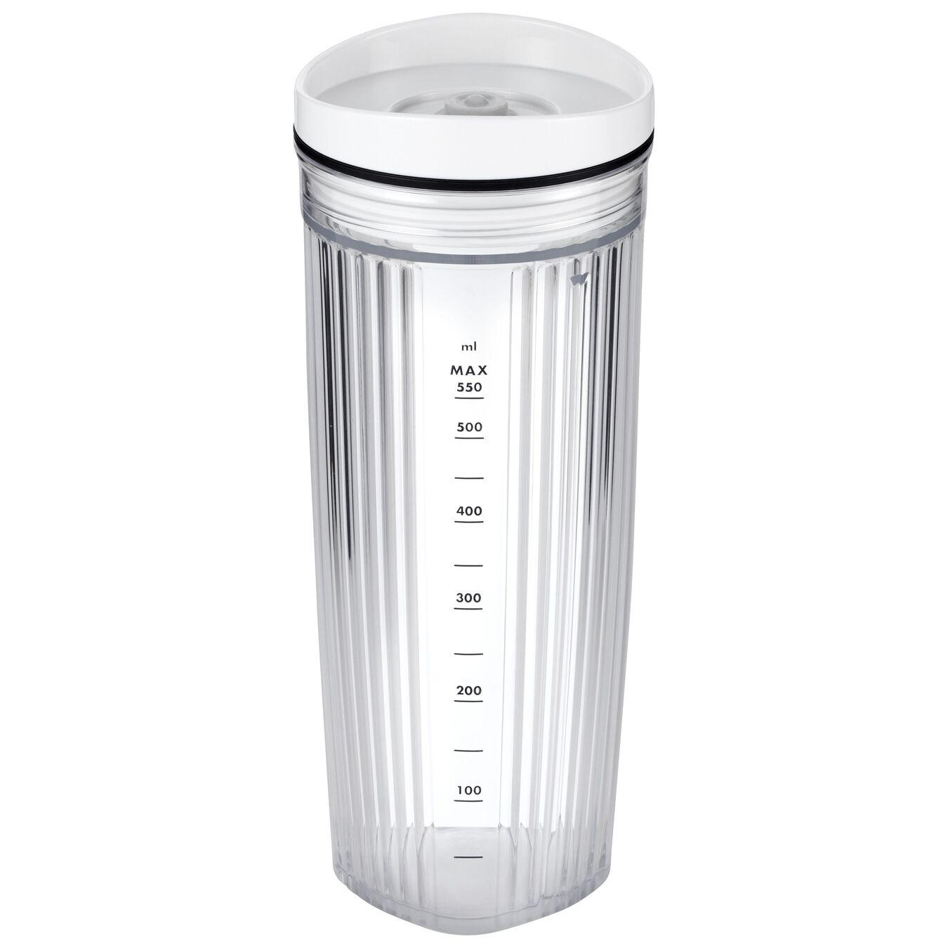 Standmixer Zubehör Set inklusive Vakuumdeckel 550 ml, Weiß,,large 1