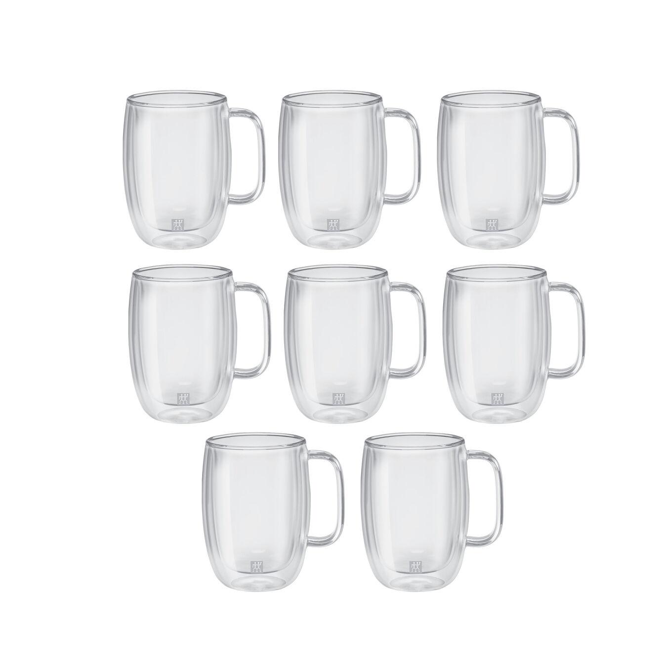 8 Piece Latte glass set - Buy 6 Get 8,,large 1