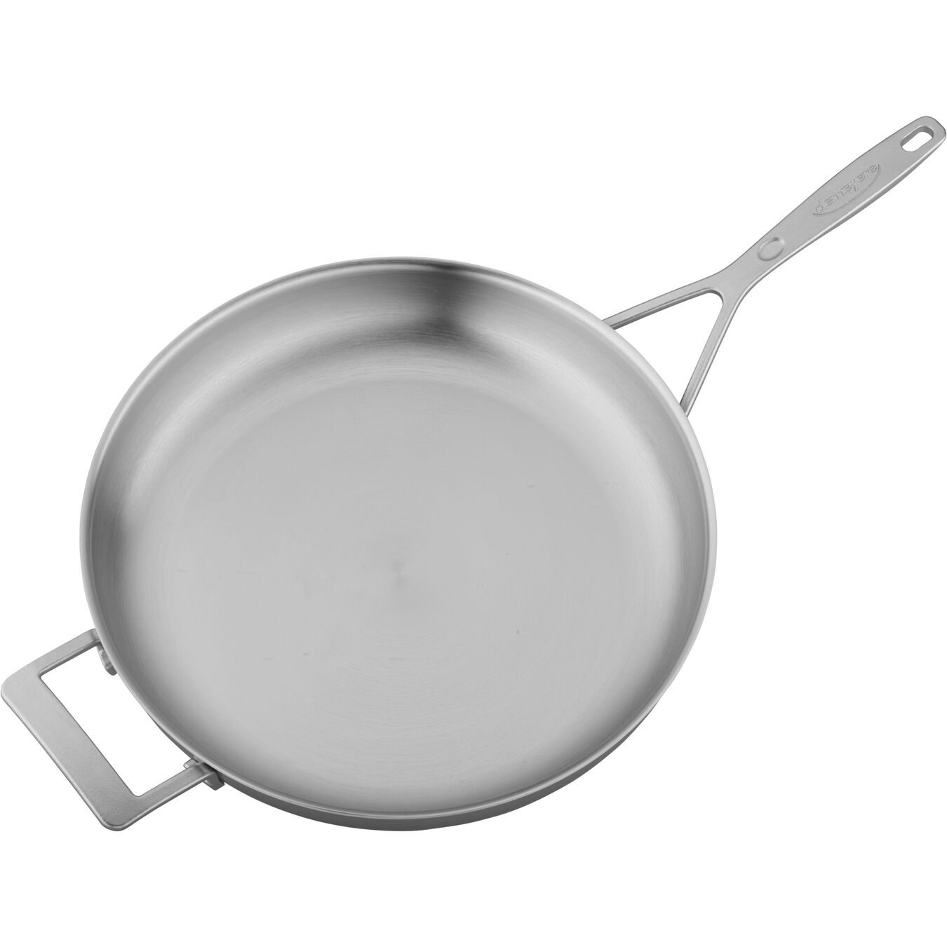 12.5-inch, 18/10 Stainless Steel, Frying pan,,large 4