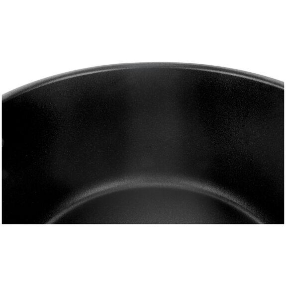 Derin Tencere, 28 cm | Yuvarlak | PTFE | Gümüş-Siyah,,large 6